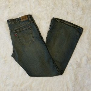 Levi's Bootcut Jeans Low Flare 537 Size 12 M